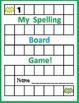 Seasonal Spelling Boards