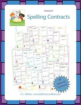 Seasonal Spelling Contracts