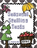 Seasonal Spelling Tests