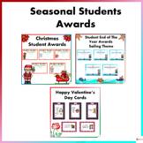 Seasonal Student Awards Bundle