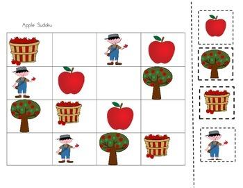 Seasonal Sudoku for the Early Childhood years