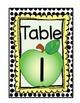 Seasonal Table Cards