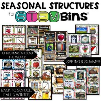 STEM Bins® Seasonal Task Cards Bundle