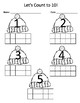Seasonal Ten Frame Counting Practice