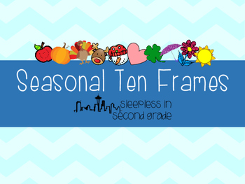 Seasonal Ten Frames