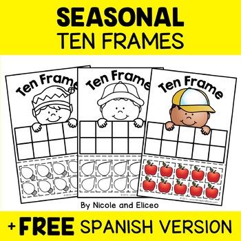 Ten Frames - Seasonal Math Center