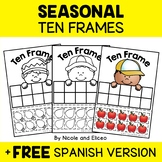 Ten Frames - Seasonal Math Center