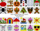 Seasonal Themed 120 Chart Mystery Pictures