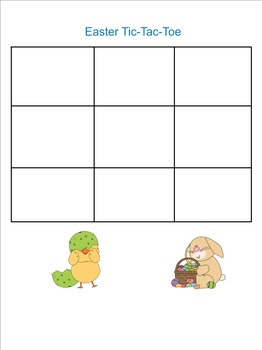 Seasonal Tic-Tac-Toe SMARTboard Games