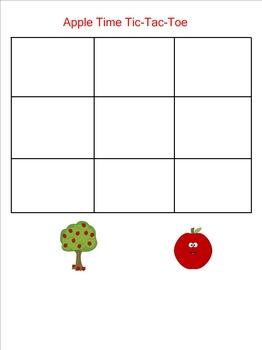 Seasonal Tic-Tac-Toe SMARTboard Games