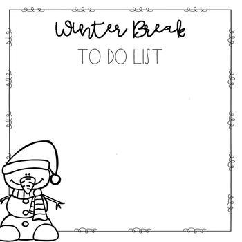 Seasonal To-Do Lists