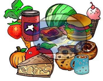 Seasonal Treats Clip-Art (24 pc. BW and Color!)