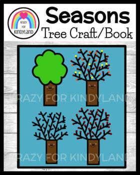 Tree Craft / Book: Season: Summer, Fall, Winter, Spring