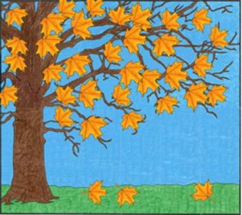 Seasonal Tree Mural