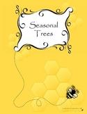 Seasonal Tree Sensory Art Activity (Set of Four)