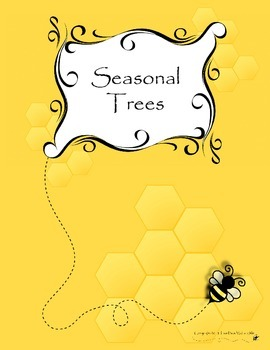 Seasonal Tree Sensory Art Activity (Set of Four)