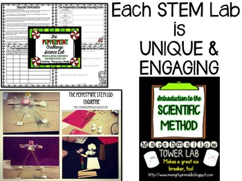 STEM BUNDLE-Seasonal Activities to Keep your Students THINKING