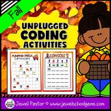Seasonal Unplugged Coding Activities (Fall Coding Unplugge