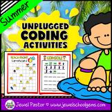 Seasonal Unplugged Coding Activities (Summer Coding Unplug