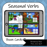 Seasonal Verbs Boom Cards