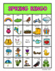 Seasons Vocabulary Bingo Boards