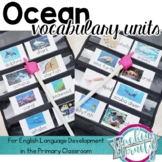 Ocean Vocabulary Units Bundle