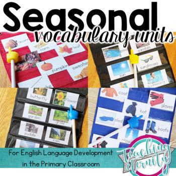 Seasonal Vocabulary Units
