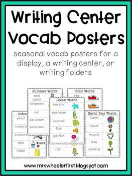 First Grade Writing Center