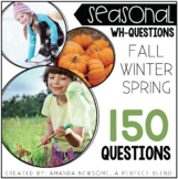 Seasonal 'WH' Questions