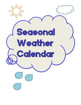 Seasonal Weather Calendar