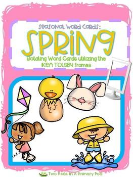 Seasonal Word Cards - SPRING
