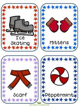 Seasonal Word Cards  - WINTER