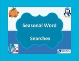 Seasonal Word Searches