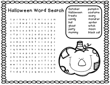 Seasonal Word Searches...Back to School, Spring, Summer