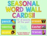 Seasonal Word Wall ~A Complete Set~