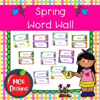 Seasonal Word Wall Bundle