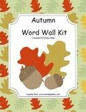 Seasonal Word Wall Kit