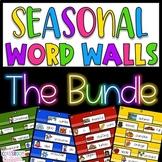 Seasonal Word Wall The Bundle