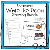 Seasonal Write the Room GROWING BUNDLE