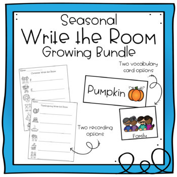 Seasonal Write the Room Bundle