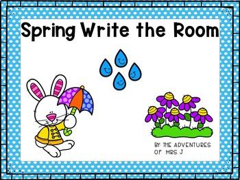 Seasonal Write the Room Growing Bundle- Differentiated