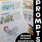 Seasonal Writing Prompts Bundle {Opinion, Explanatory, Narrative}