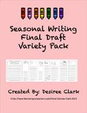 Seasonal Writing Final Draft Variety Pack