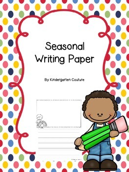 Seasonal Writing Paper