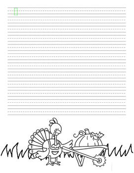 Seasonal Writing Paper