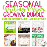 Seasonal Writing Paper GROWING BUNDLE