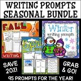Seasonal Writing Prompts | Spring Writing Activities | Fall Writing Center