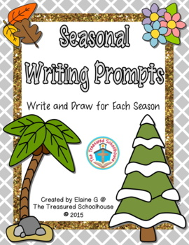 Seasonal Prompts to Write and Draw