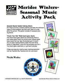 Music Fun Full Year Activity Pack