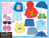 Seasonal and Everyday Clothes Clip Art